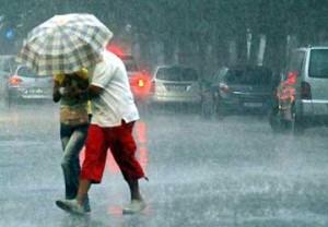 Allerta della protezione civile per pioggia