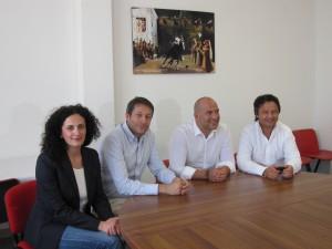 Da sinistra Fioravanti,Luciani, Lucciarini e Ruggieri