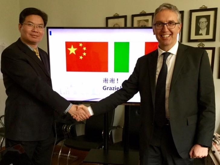 Delegazione marchigiana in Cina