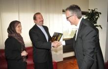 Ceriscioli e l'ambasciatore iraniano qualche mese fa