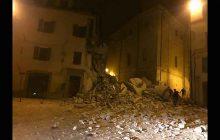 Terremoto a Camerino, crollo casa