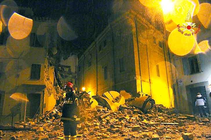 Sisma,Carabinieri: un morto a Tolentino