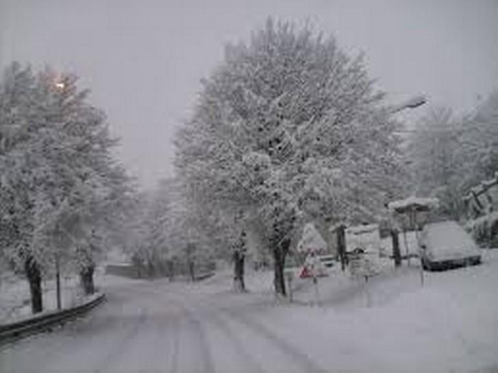 Abruzzo: tanta neve già giovedì 5 Gennaio