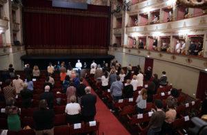 Teatro Pergolesi in ricordo delle vittime Covid