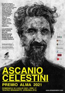 Ascanio Celestini Premio Alma 2021