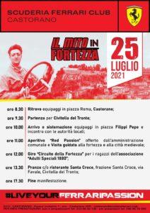 A Castorano giornata dedicata alla Ferrari