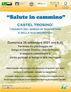 Una camminata a Castel Trosino