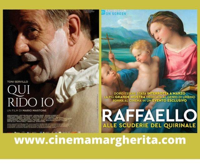 Prossimi spettacoli al Cinema Margherita